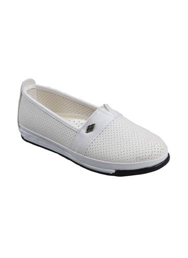 Papuçcity Aytu Bayan Beyaz Günlük Ayakkabı Beyaz